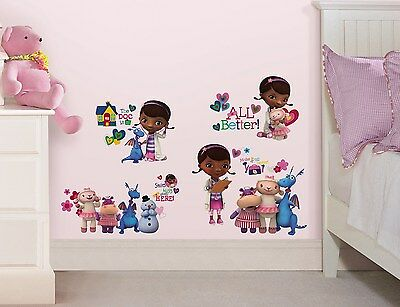 27 New DOC MCSTUFFINS WALL DECALS Disney Bedroom Stickers Girls Toy Room Decor