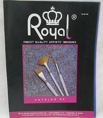 Royal Finest Quality Artists Brushes Catalog 94 Royal Brush Manufacturing Inc.