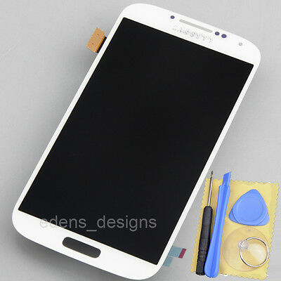 White FOR SAMSUNG GALAXY S4 I545 M919 I337 LCD TOUCH DIGITIZER SCREEN ASSEMBLY