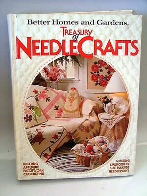 HB BETTER HOMES & GARDENS TREASURY OF NEEDLE CRAFTS