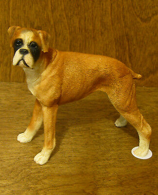 Castagna Dog Figurines #101 BOXER, MADE IN ITALY, NEW from our Retail Store