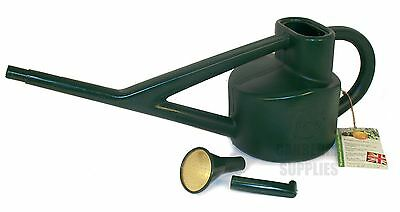Haws Conservatory Watering Can House Plant Hanging Baskets Garden 2.25L - Green