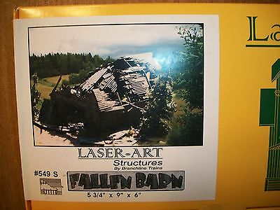 Laser Art Kit S Scale  Fallen Barn KIT  SUPER SALE BTTG Exclusive