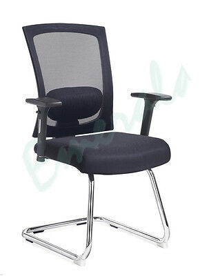 Ibiza Mesh Back Office Visitor Meeting Reception Conference Arm Chair