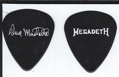 Megadeth Dave Mustaine Guitar Pick NEW!