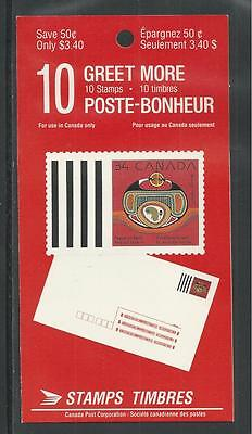 CANADA # 1297a MNH CHRISTMAS REBIRTH Booklet