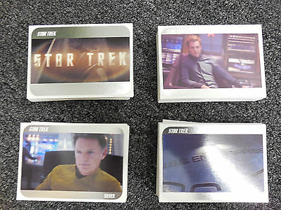 2014 Star Trek The Movies - Complete 110 Card 2009 Movie SILVER PARALLEL Set