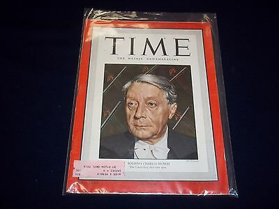 1949 DECEMBER 19 TIME MAGAZINE - BOSTON'S MUNCH - GREAT FRONT COVER - D 1840