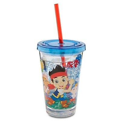 Disney Store Jake And The Never Land Pirates Small Tumbler Drinking Bottle Cup
