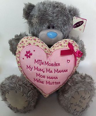 """Me To You Tatty Teddy Bear Plush Toy My Mum Mothers Day Gift 13"""" Meine Mutter"""