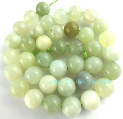 Beautiful! A 10mm New Jade Round Loose Beads 15''