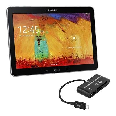 kwmobile 3 IN 1 MICRO USB CARD READER POUR SAMSUNG GALAXY NOTE 10 1 P600 EDITION