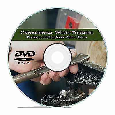 Ornamental Wood Turning, Projects to Use Your Home Woodworking Lathe CD DVD V62