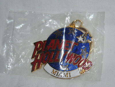 Planet Hollywood Miami key chain, mint, unused in package