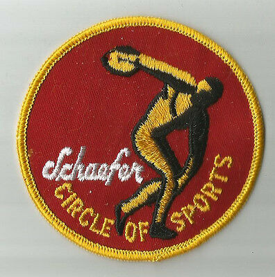 Schaefer Circle of Sports  Patch
