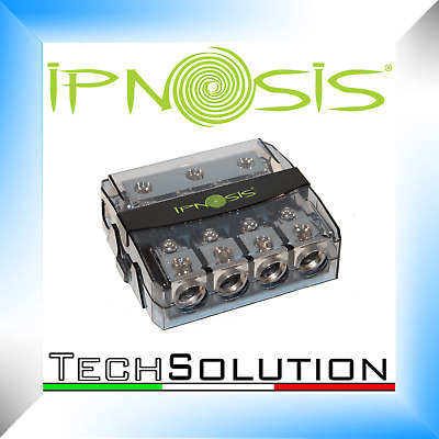 Portafusibile Ipnosis IPH S450 AFC in/out cavo 4x50 mm sdoppiatore