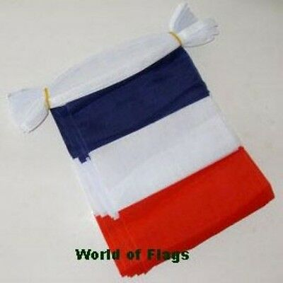 FRANCE BUNTING French Flag 9m 30 Polyester Fabric Party Flags Europe European
