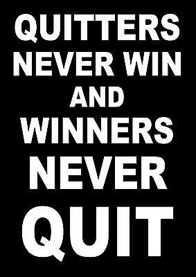 Inspirational Motivational Quote Poster Boxing Running Bodybuilding  Cycling (3)