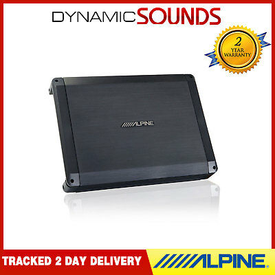 Alpine BBX-F1200 BBX Power Class A/B 4 Channel Car Amplifier 600W