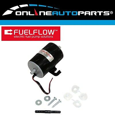 NZ Made FuelFlow # 020 Electric Fuel Pump 12 volt 5 psi - Carby Petrol or Diesel