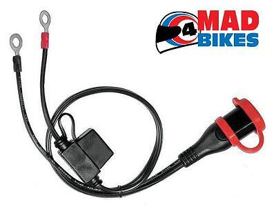Permanent Connection Lead For The Biketek Bch012 Motorcycle Battery Charger