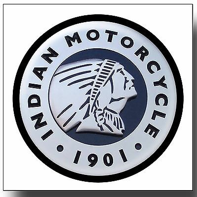 Indian Motorcycles Metal Drinks Coaster,enamelled Finish,