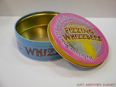 Harry Potter Fizzing Whizzbees Empty Honeydukes Tin Single Stash Candy Box NEW