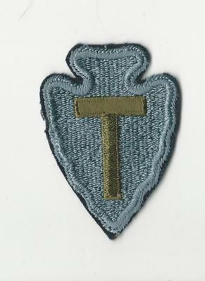 Us Army Patch - 36Th Infantry Division - Black Edge - 1960's Era
