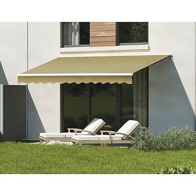New 4.0x2.5m Automatic Outdoor Folding Arm Awning