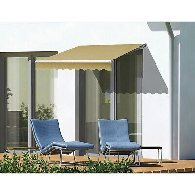 3.0x2.5m Automatic Outdoor Motorised Folding Arm Awning
