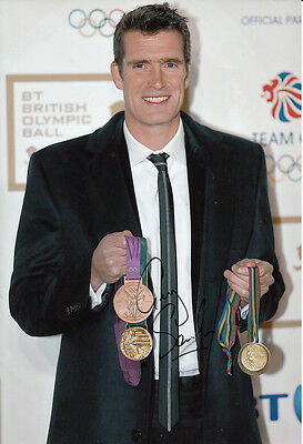 London 2012 Alan Campbell Hand Signed Great Britain 6x4 Photo London 2012 3.