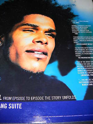 MAXWELL 1996 Promo Poster Ad URBAN HANG SUITE mint cond