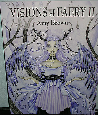 Amy Brown - Visions Of Faery II - SIGNED