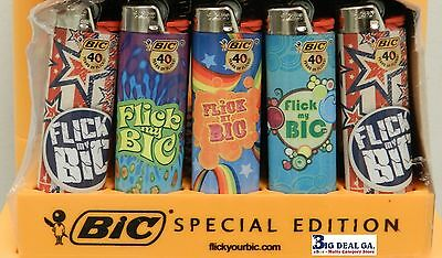 Bic Lighters  10 Count Flick My Bic Regular big Size Lighters Disposable Plastic