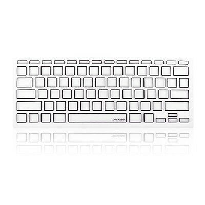 """Maclife New Arrival Black Silicone Keyboard Cover Skin for Macbook Air 11"""""""