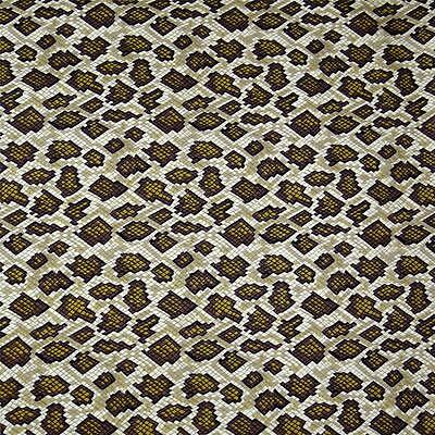 """REPTILE SNAKE SKIN 100/% COTTON FABRIC 45/"""" WIDTH SOLD BY THE YARD FH-895"""