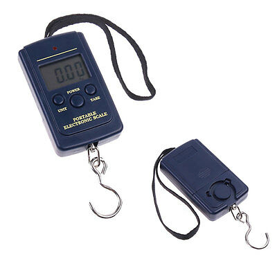 20g-40Kg Electronic Digital Hanging Luggage Fishing Balance Weight Scale AU