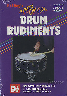 Anyone Can Play Drum Rudiments Snare Drum Tuition DVD