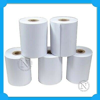 5x Pack Thermal Paper Roll 57mmx57mm->Sharp XE-A107/XE-A207/XEA217 Cash Register