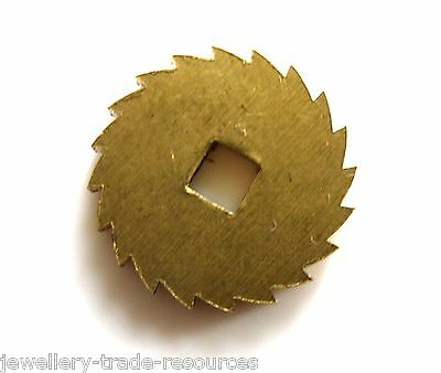 14mm REPLACEMENT BRASS CLOCK WINDING RATCHET WHEEL SPARES REPAIRS PARTS