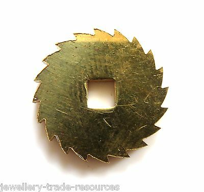 20mm Diameter REPLACEMENT BRASS CLOCK WINDING RATCHET WHEEL SPARES REPAIRS PARTS