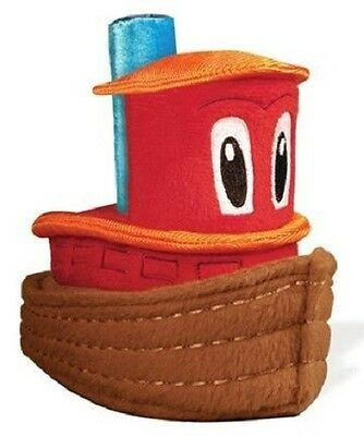 "Scuffy the Tugboat 6.5"", NEW by YoTToY"