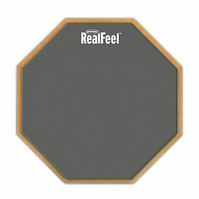 "Realfeel 12"" Speed Drum Accessory Practice Pad RF12G"