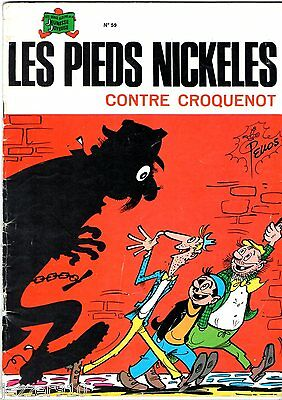 LES PIEDS NICKELES n°59 ¤ CONTRE CROQUENOT ¤ SPE 1980