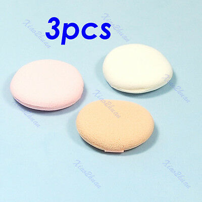Hot 3pcs Facial Face Sponge Makeup Make Up Tool Cosmetic Powder Puff New