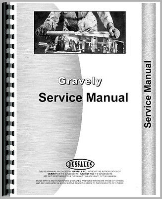 New Gravely  Tractor Service Manual (Model L)