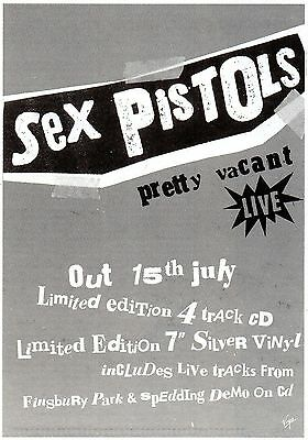 Sex pistols-magazine advert