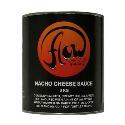 Flow Nacho Cheese Sauce Topping 3kg (Pack of 6)
