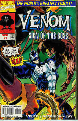 Venom: Sign of the Boss # 1 (of 2) (USA, 1997)