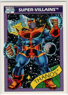1990 Impel Marvel UniverseTrading Singles #76 - #148 pick any card complete set
